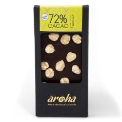 Aroha Fındıklı Bitter Çikolata - %72 Kakao